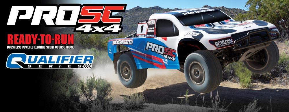 NEW! ProSC 4x4 Ready-To-Run