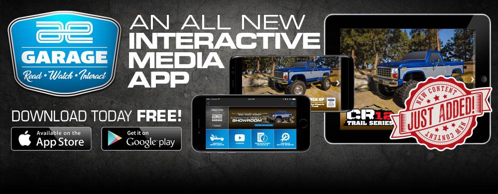 New AE Garage App!