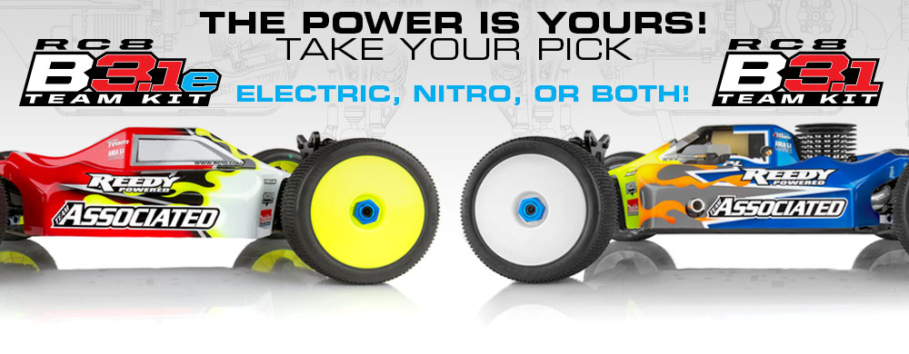 The Power is Yours! Take your pick - Nitro or Electric