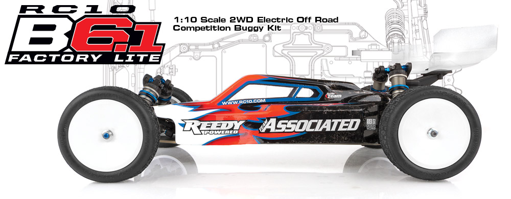 NEW RC10B6.1 Factory Lite Kit