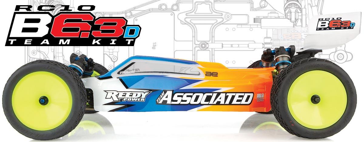 RC10B6.3D Team Kit
