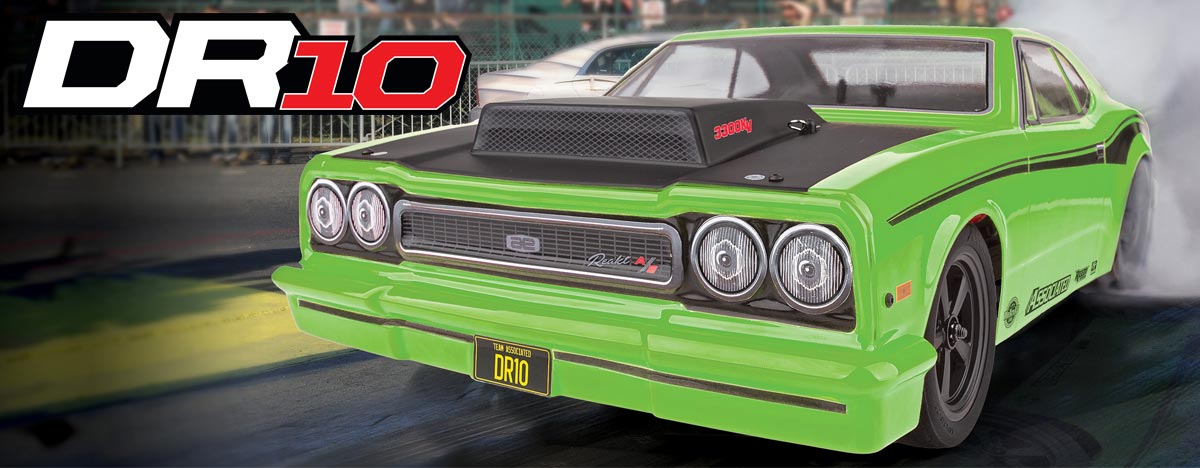 DR10 Drag Race RTR--now with green body!
