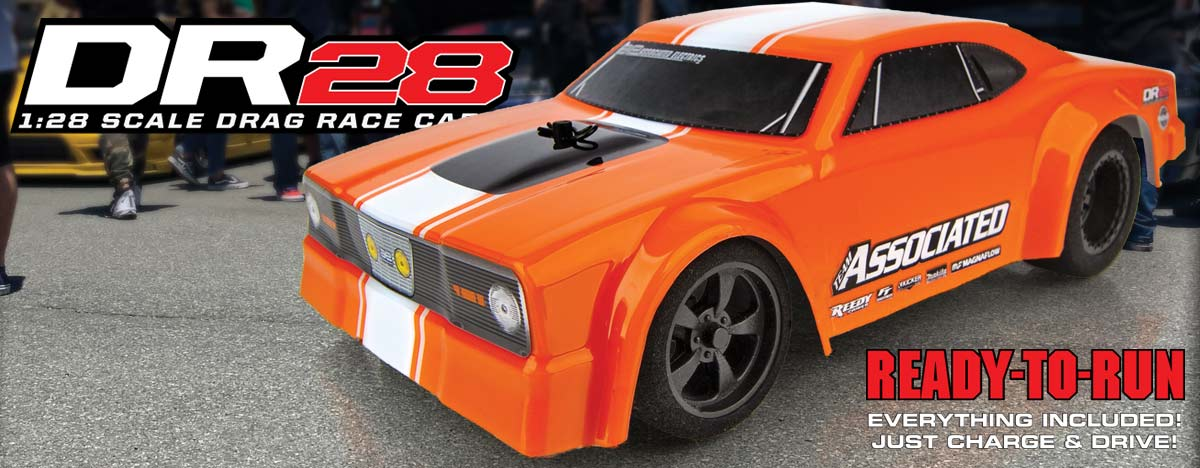 DR28 Drag Race Car RTR