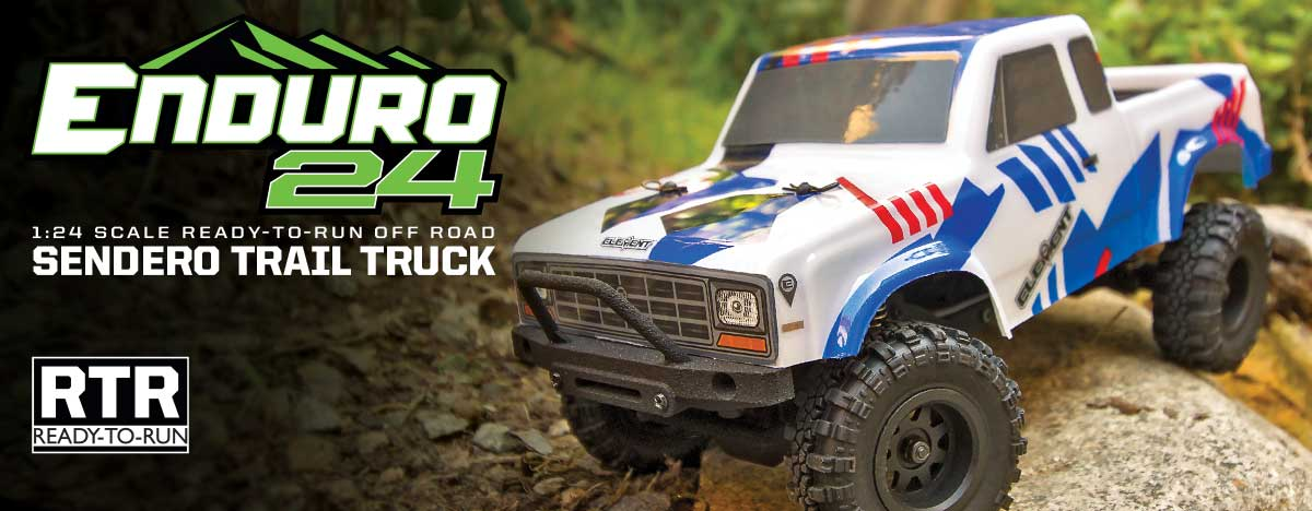 Enduro24 Crawler RTR, Sendero Trail Truck