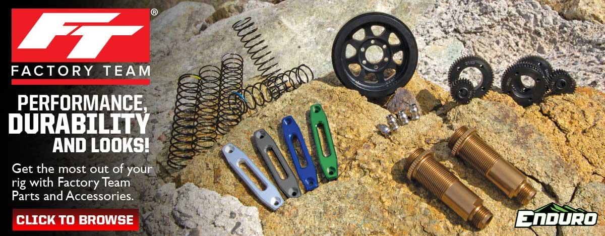 Enduro Factory Team Parts