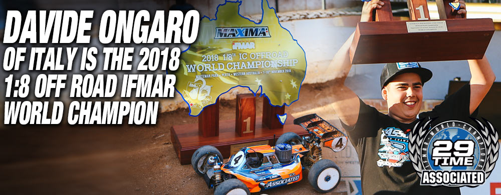 Davide Ongaro Wins Team Associated's 29th IFMAR World Championship