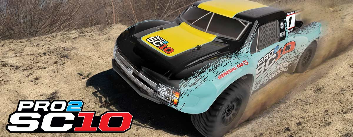 New! Pro2 SC10 RTR and LiPo Combo