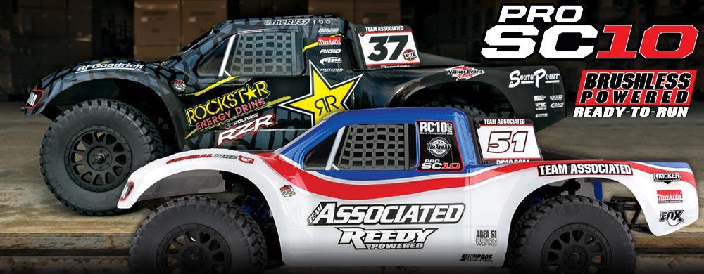 NEW! ProSC10 RJ/Rockstar RTR