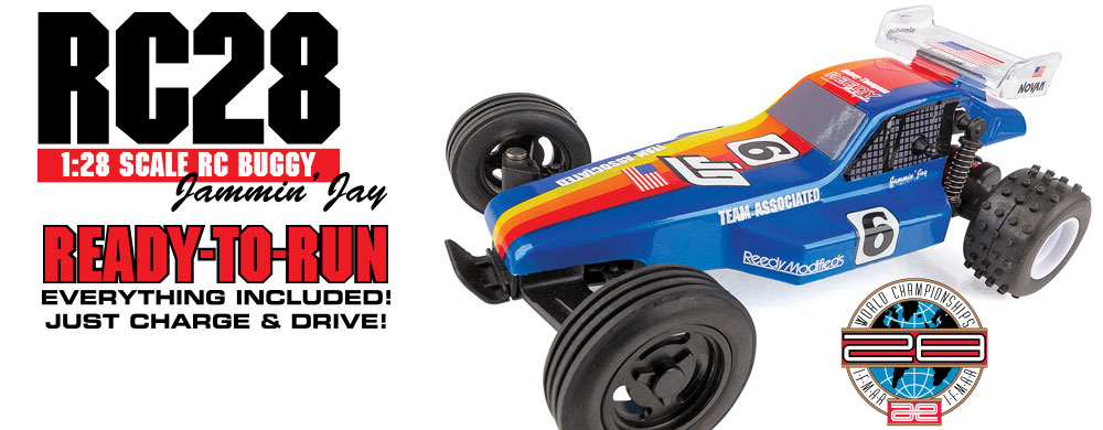 NEW! RC28 RTR Jammin' Jay Halsey Replica
