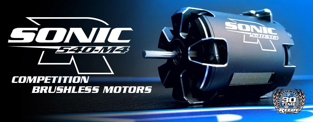 Sonic 540-M4 Motors