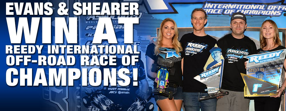 Evans and Shearer Win At Reedy International Off-Road Race of Champions