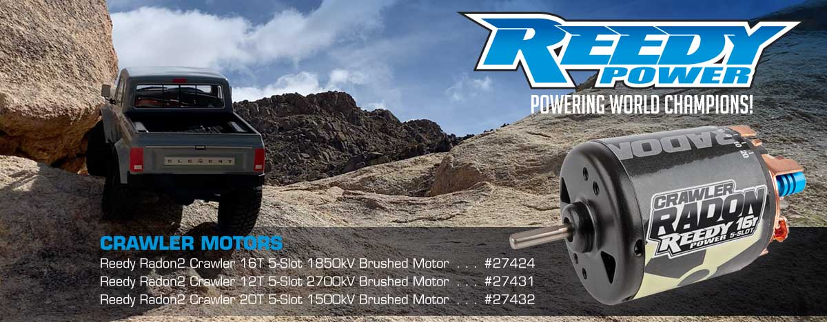 Reedy Crawler Motors