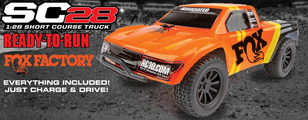New! SC28 RTR FOX Factory Truck