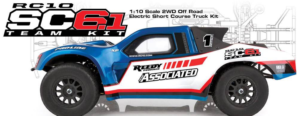 RC10SC6.1 Team Kit