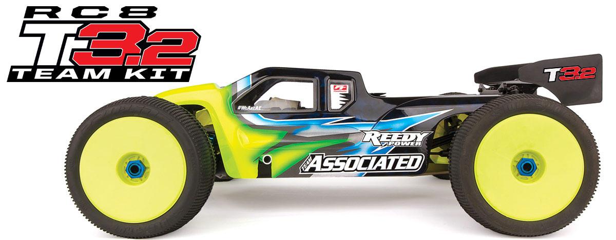 RC8T3.2 Nitro Team Car Kit