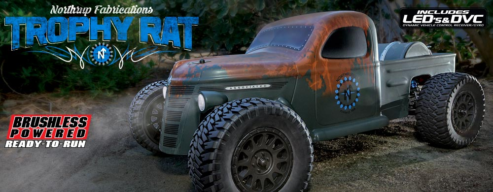 New! Trophy Rat RTR Truck