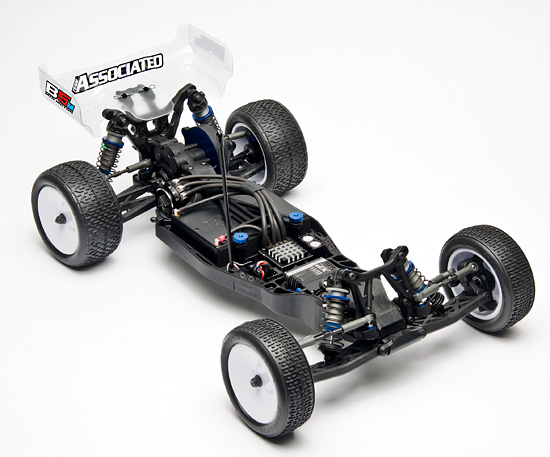 Electric Vehicle (RC10B5M buggy, 1:10 scale)