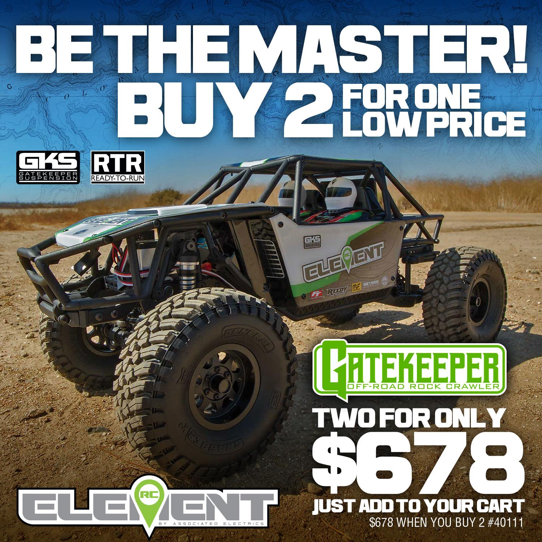 Gatekeeper RTR Promotional Sale