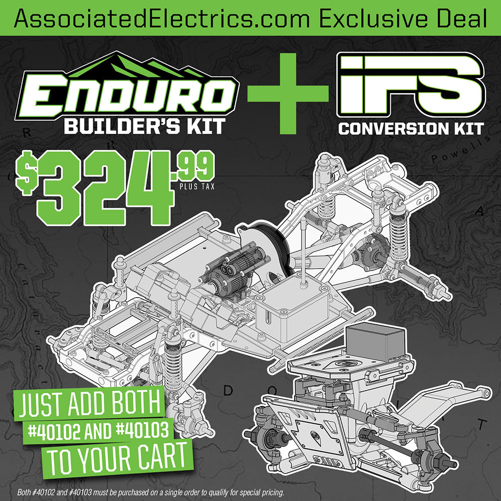 Enduro Builders Kit and IFS Combo