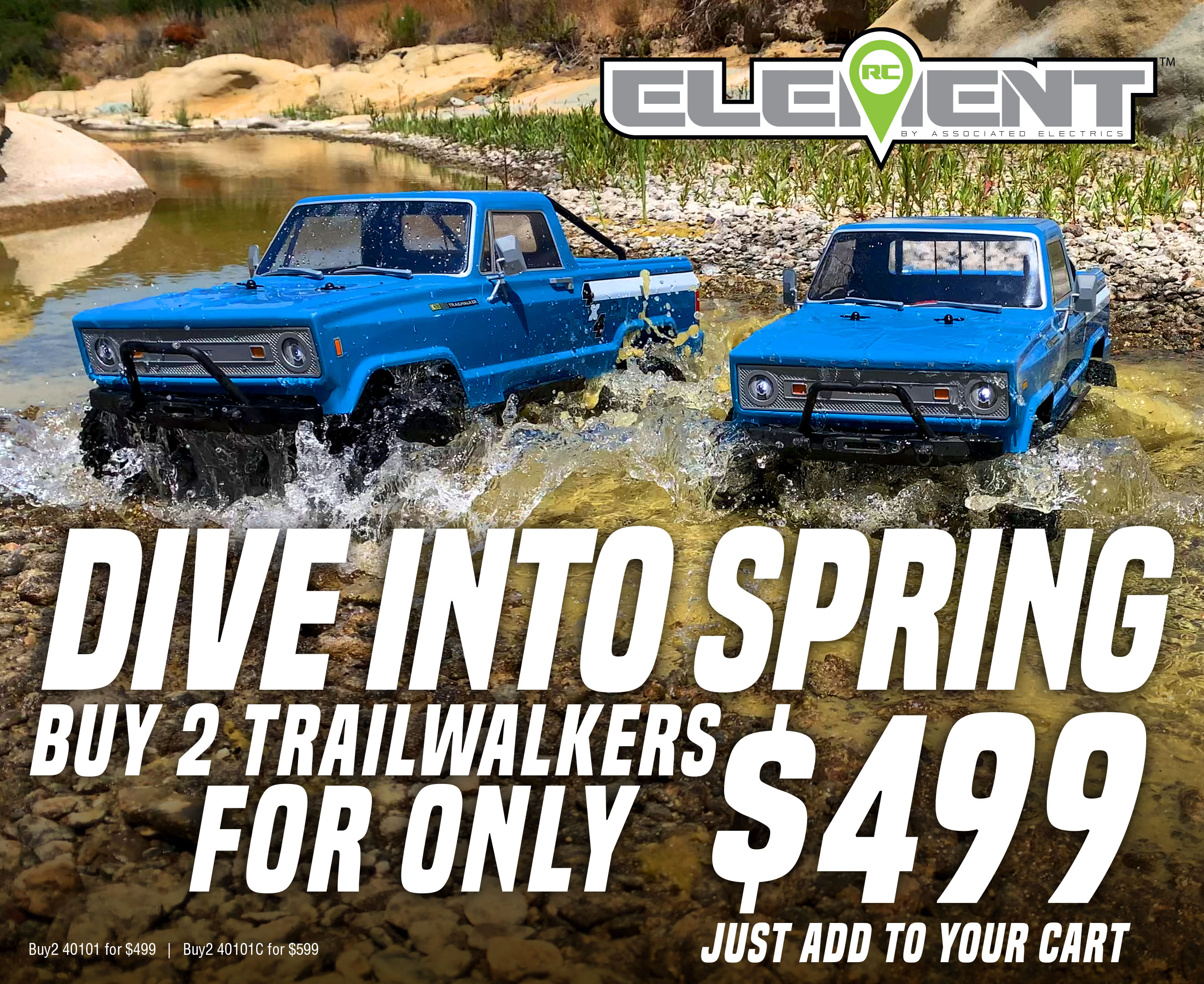 Trail Walker Promotional Sale
